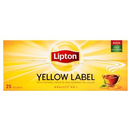 LIPTON Yellow Label 25 torebek