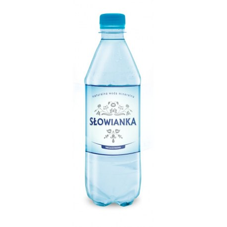 Słowianka 0.5 l. niegazowana 1296 butelek PALETA