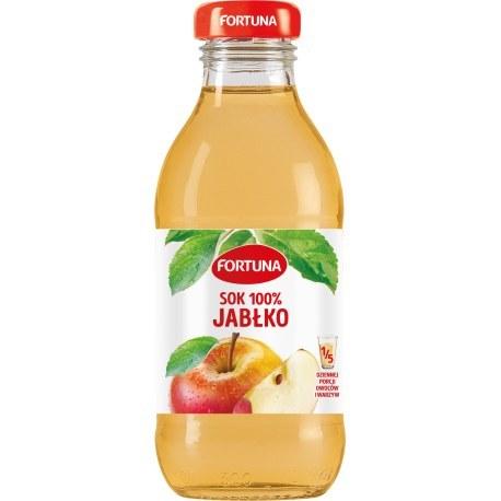 Fortuna Szkło Jabłko 100% 0.3l x 15 sztuk