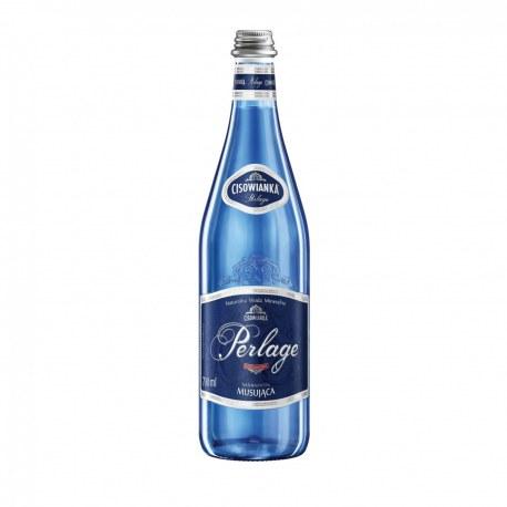 Woda Cisowianka gazowana 0.7l. szkło