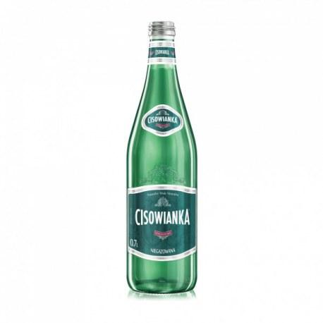 Woda Cisowianka niegazowana 0.7l. szkło