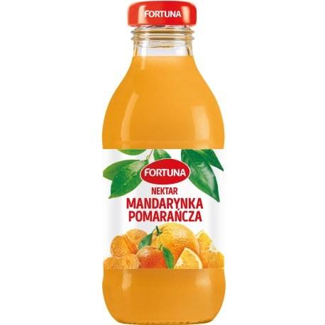 Fortuna Szkło Mandarynka + Pomarańcz 100% 0.3l x 15 sztuk