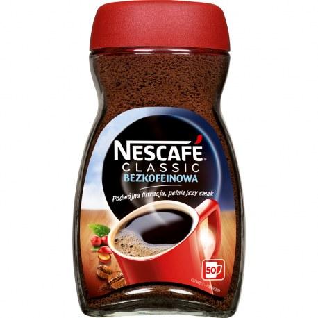Kawa Nescafe BEZKOFEINOWA 100G