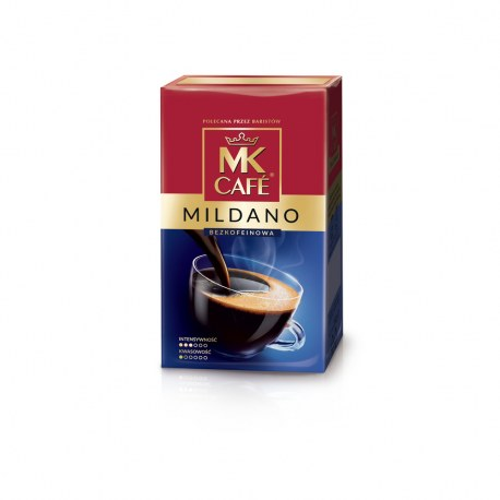 Kawa MK CAFE MILDANO Bezkofeinowa 250g