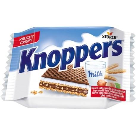 Knoppers wafelek mleczny 25g x 24 sztuki