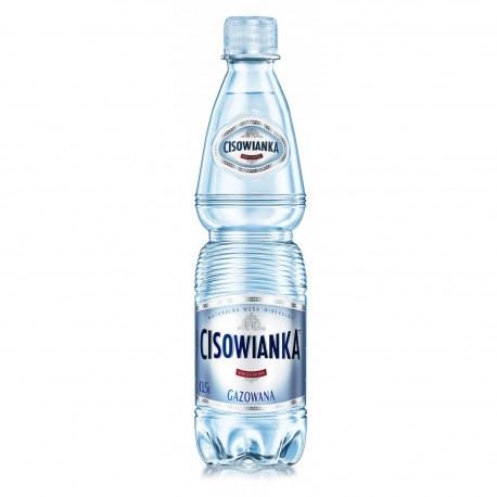 Woda mineralna Cisowianka 0.5l gazowana