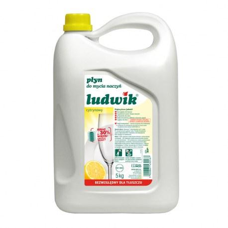 Ludwik Płyn do mycia naczyń Cytrynowy 5 kg.