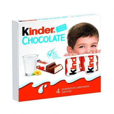 KINDER CHOCOLATE x 4 sztuki