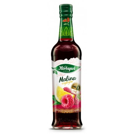 Herbapol Syrop Malina z cytryną 0.420 ml
