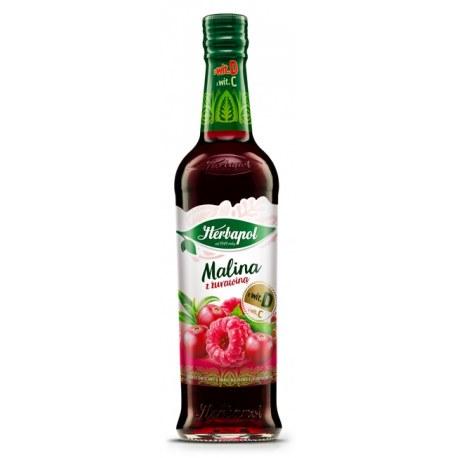 Herbapol Syrop Malinowy z żurawiną 0.420 ml