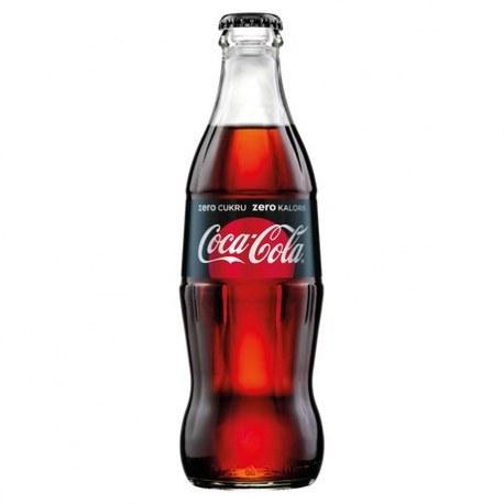 Cola zero 250 ml x 24 butelki ZWROTNE