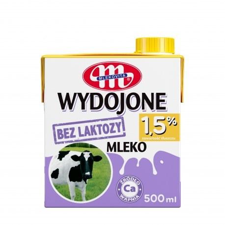 Mlekovita Bez laktozy 1.5% 0.5l x 12 sztuk