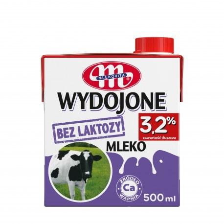 Mlekovita Bez laktozy 3.2% 0.5l x 12 sztuk