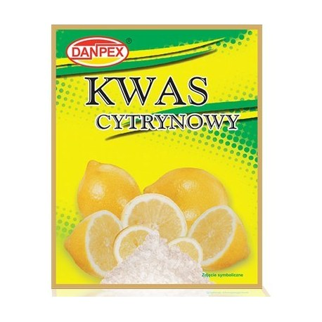 Danpex Kwasek Cytrynowy 20g x 30 saszetek