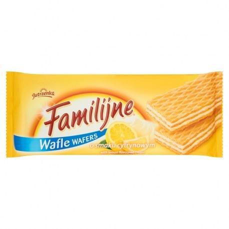 WAFLE FAMILIJNE CYTRYNOWE 180 G