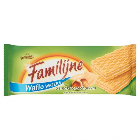WAFLE FAMILIJNE ORZECHOWE 180 G
