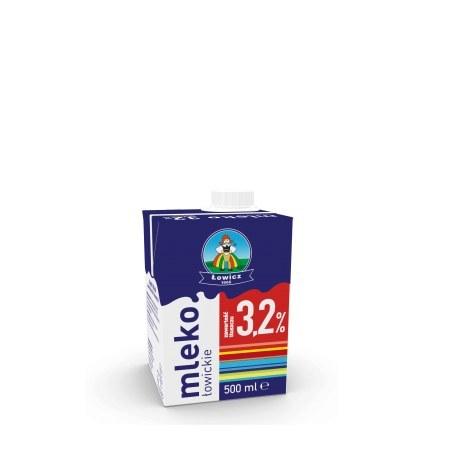 Mleko Łowickie 3.2% 0.5l X 12 SZTUK