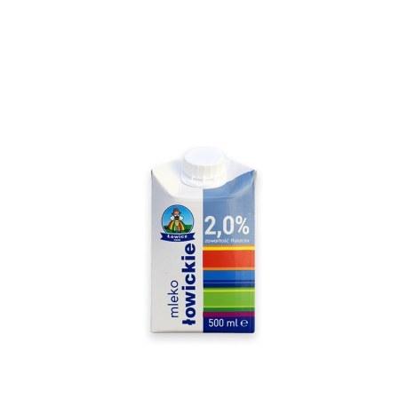 Mleko Łowickie 2% 0.5 l X 12 SZTUK