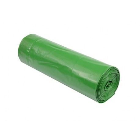Worki na śmieci zielone 120l 8 sztuk