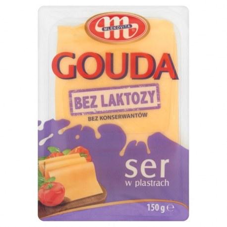 Mlekovita Ser Gouda plastry 1 kg