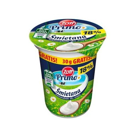 Zott Primo Śmietana 18% 330 g