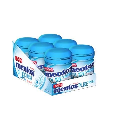 GUMA MENTOS PURE FRESH MINT 20G X 15 SZTUK