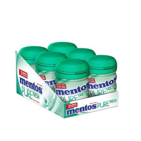 GUMA MENTOS SPEARMINT 60G X 6 SZTUK