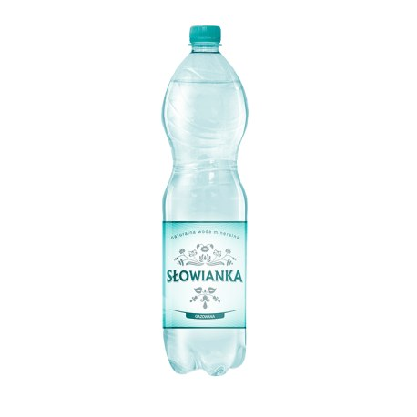 Słowianka 1.5 l. GAZOWANA 504 butelek PALETA