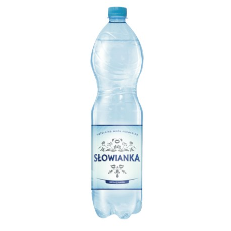 Słowianka 1.5 l. NIEGAZOWANA 504 butelek PALETA