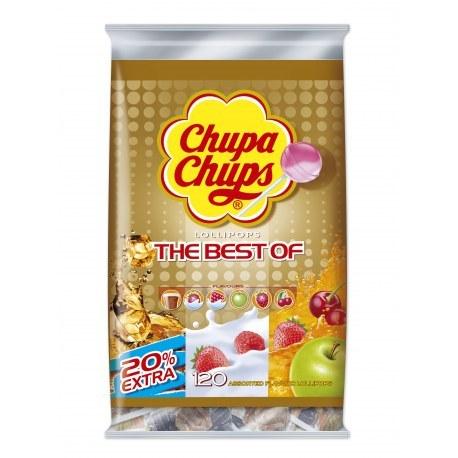 CHUPA CHUPS BEST OF TORBA x 120 sztuk