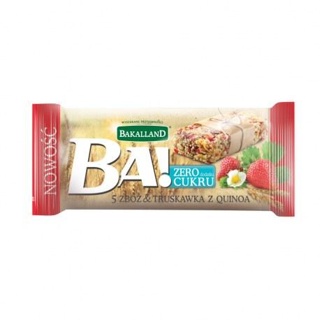 BAKALLAND BATON 5 ORZECHÓW 40G