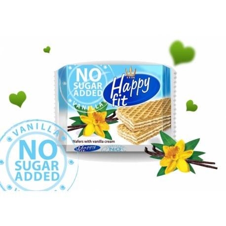 Flis Happy Fit wafelki waniliowe bez cukru 95g