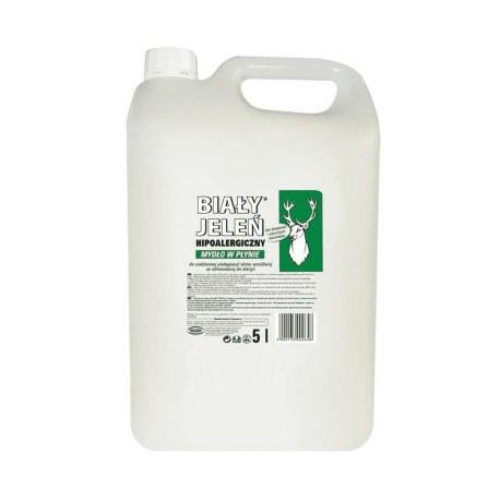 Biały Jeleń Hipoalergiczne Mydło w płynie 5L