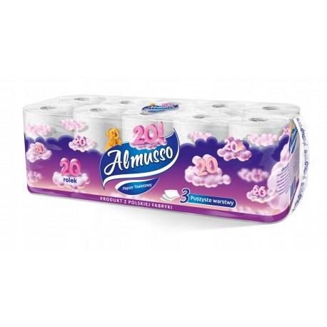 Papier toaletowy Almusso 20 rolek