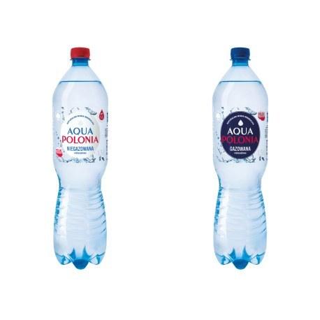Aqua Polonia 1.5L. gaz i ngaz 504 butelki PALETA