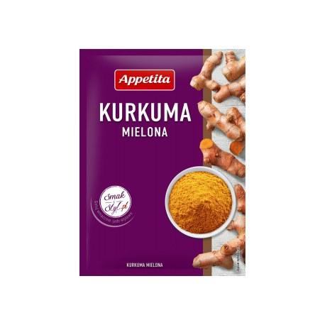Appetita Kurkuma mielona 20g