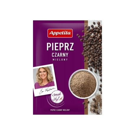 Appetita Pieprz czarny mielony 20g