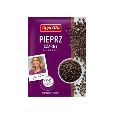 Appetita Pieprz czarny ziarnisty 20g