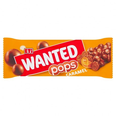 Eti Wanted Baton karmelowy 28 g x 24 sztuki
