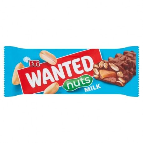 Eti Wanted Baton nugatowy 28 g x 24 sztuki