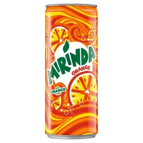 MIRINDA ORANGE 330 ML x 24 sztuki