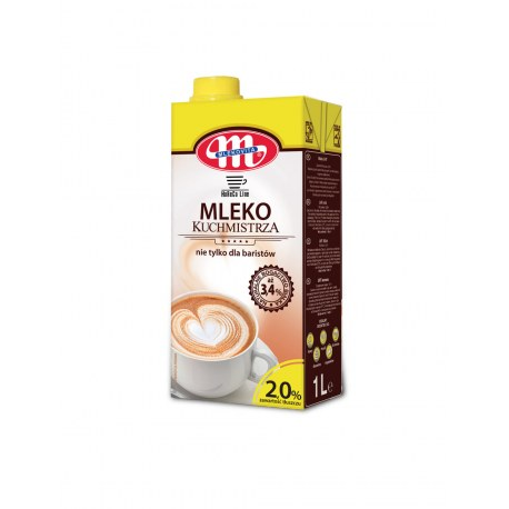 Mlekovita Mleko Kuchmistrza 1l 2% x 12 sztuk