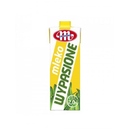 Mlekovita Mleko UHT 2% tł. WYPASIONE 1 L x 12 sztuk