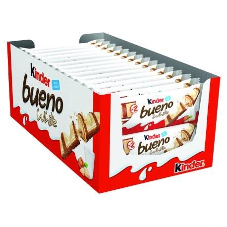 Kinder Bueno white 43g x 30 sztuk