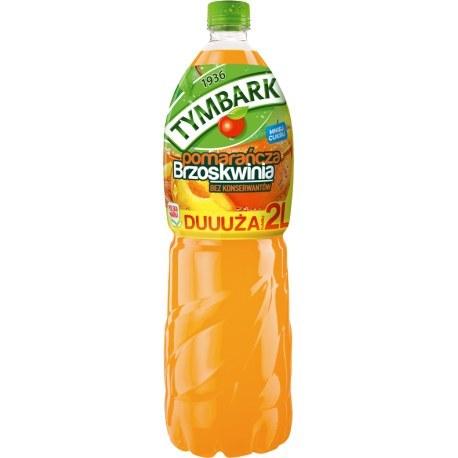 Tymbark Napój pomarańcz brzoskwinia 2l. x 6 sztuk