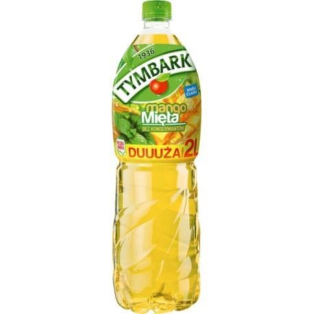 Tymbark Napój mango mięta 2l. x 6 sztuk