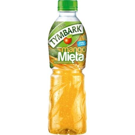 Tymbark Napój mango mięta 0.5l. x 12 sztuk