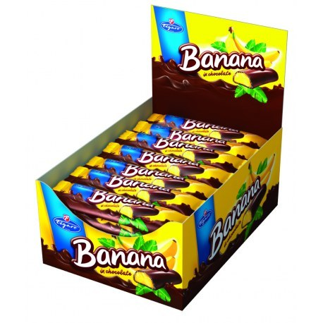 IDC Batonik bananowy 25g x 35 sztuk