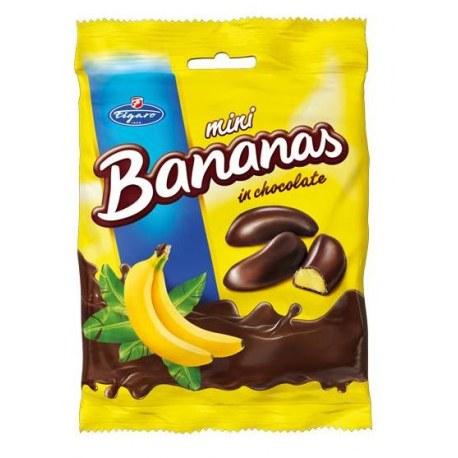 IDC Pianki bananowe w czekoladzie 75g x 18 sztuk