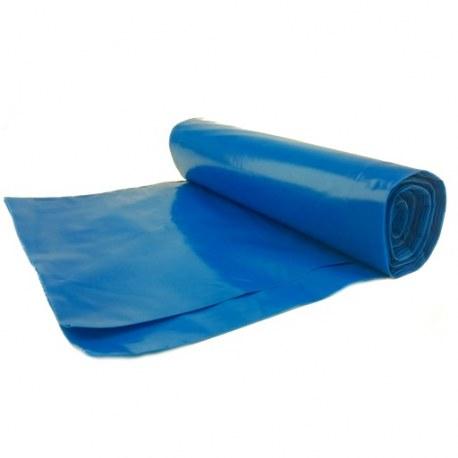 Worki na śmieci niebieskie 120l 25 sztuk